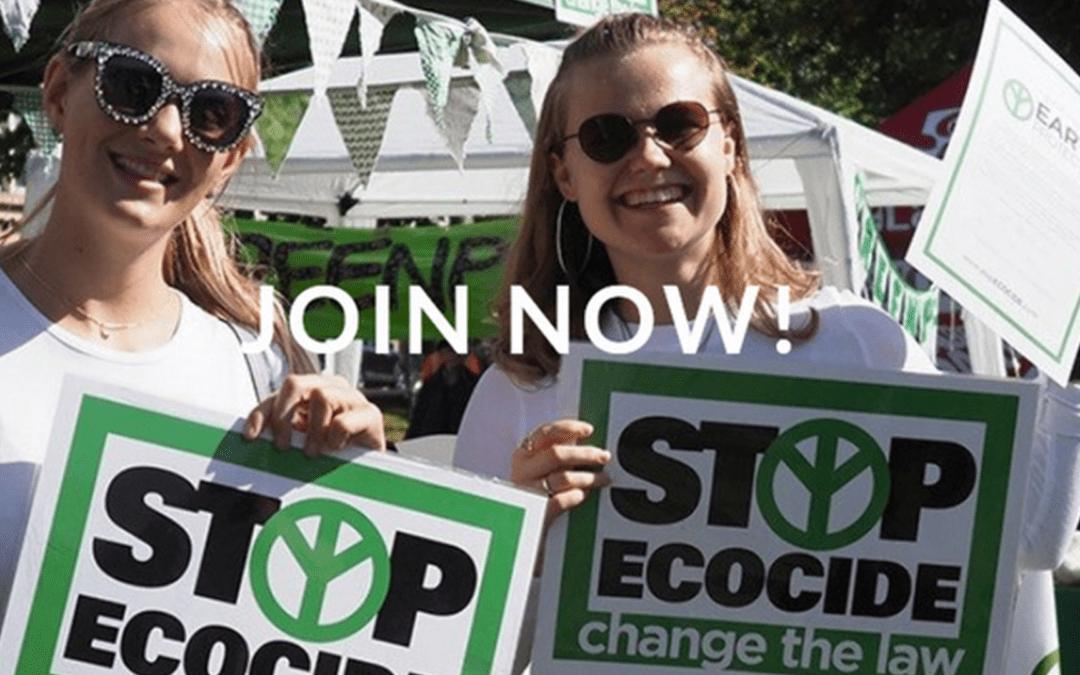 Stop Ecocide – Ein Ende der Zerstörung unserer Lebensräume!